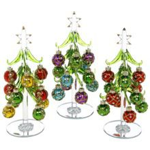 Glass Bauble Christmas Tree