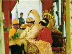 King Birendra and his wife Aiswarya were crowned King and Queen  of Nepal on 24 Feb 1975