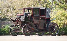 Antique electric vehicle