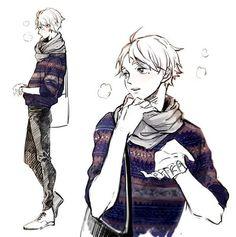 anime, art, and cute image Kagehina, Daisuga, Kuroken, Haikyuu Manga, Haikyuu Fanart, Manga Anime, Anime Art, Sugawara Koushi, Haikyuu Volleyball