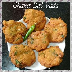 Chinu's Kitchen Corner: Chana Dal Vada/Masala Vada