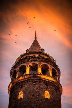 Galata Tower, Istanbul by Mehmet Emre – Photo 60828148 – – Cengiz Canberk – Join the world of pin Istanbul City, Istanbul Travel, Wonderful Places, Beautiful Places, Places To Travel, Places To Visit, Hagia Sophia, Islamic Architecture, Turkey Travel