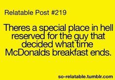 McDonalds....for reals