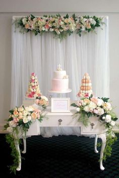 Love the backdrop needs a lil creative makeover for beautiful wedding wedding shower floral display junglespirit Gallery