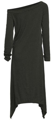 asymmetrical casual dress <3