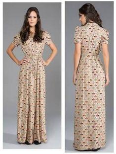 Resultado de imagem para vestido modesto