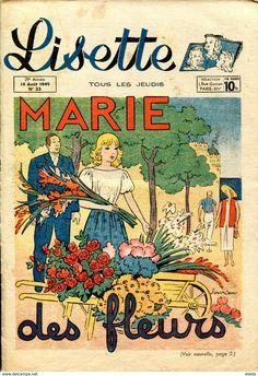 Ill. Jacques Souriau, Lisette N°33  - Année 1949