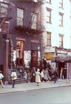 Saint Marks Place, New York City, 1982.