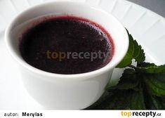 Višňová marmeláda s čokoládou recept - TopRecepty.cz Preserves, Pickles, Food And Drink, Tableware, Preserve, Dinnerware, Tablewares, Preserving Food, Pickle