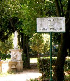 Villa Borghese, Rome.