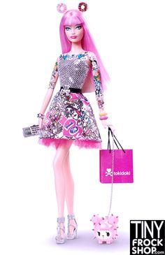 Barbie Tokidoki Pink 2015 Doll - Black Label NIB! $128 via @shopseen