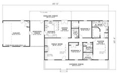 Houston, we have a house plan.  Needs a couple of slight modifications, like reversing it, but we both like it the best.