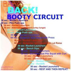 BABY GOT BACK! BOOTY CIRCUIT #Health #Fitness #Trusper #Tip