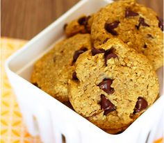 21. Pumpkin chocolate chip cookies | Community Post: 49 Vegan & Gluten Free Recipes For Baking In October