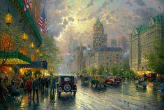 Thomas Kinkade New York 5th Avenue