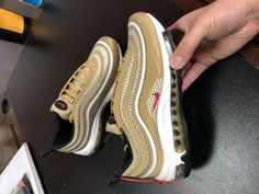 2018 Real Women Nike Air Max 97 Peach Blossom Red White in
