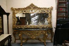 Renaissance, Antique Photos, Dublin Ireland, Mirror, Antiques, Furniture, Home Decor, Old Pictures, Antiquities