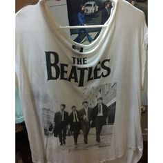 the beatles shirt very comfy loose shirt; only wore it once last year other than that its been sitting in my closet. it is very sheer. Forever 21 Tops