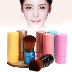 $1.42 (Buy here: https://alitems.com/g/1e8d114494ebda23ff8b16525dc3e8/?i=5&ulp=https%3A%2F%2Fwww.aliexpress.com%2Fitem%2FRetractable-Cosmetic-Brush-Makeup-Contour-Foundation-Blush-Brush-Tool-FE-8%2F32767358245.html ) New Portable Foundation Face Kabuki Powder Contour Makeup Brush Cosmetic Retractable for Beginners, performers, professional for just $1.42