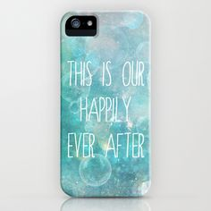 this is our happily ever after iPhone Case by Sylvia Cook Photography - $35.00