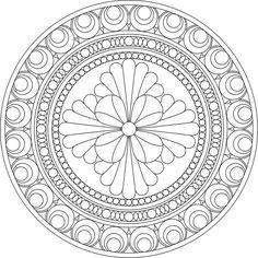 mandala coloring - Cerca con Google