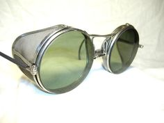 Deco Goggle Motorcycle Aviator Sun Glasses