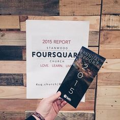 Want ideas on what to do with you annual reports? Here's a sample of what @4sq.church (Stanwood Foursquare) and @faithchapelmt (Billings Foursquare) did with their annual reports for their congregation. If you want more ideas or to check these reports out, contact your district office for a copy.