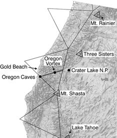 map of oregon laylines | ley lines pacific northwest these are my closest ley lines