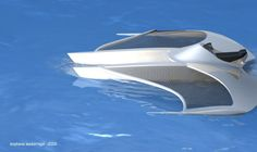Gallery of Student Design Work Design Net, Boat Design, Ground Effects, Flying Boat, Speed Boats, Scale Models, Sailing, Wigs, Student