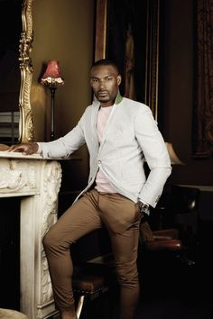 my first crush! Modern Gentleman, Gentleman Style, Tyson Beckford, Classic Suit, Casual Wear For Men, Fine Men, Well Dressed Men, Men Looks, Sexy Ass