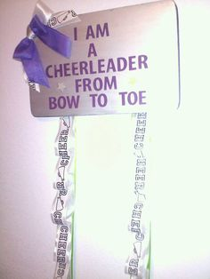 Cheer Bow Holder by GeminiMade on Etsy, $35.00