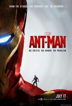 New poster, Ant-Man is on Iron Man #TonyStark
