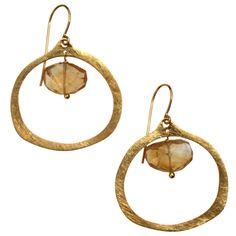 Kirsten Goss 18ct gold vermeil Lulu earrings - Gift Guide - How To Spend It