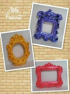 Color frames / Molduras coloridas