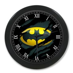 rogeriodemetrio.com: Batman in Black Alarm Clock