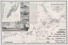 Eine Seekarte aus Gotha | Sea map China