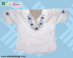 Blusas bordadas a mano hechas en telas tipicas de Guatemala