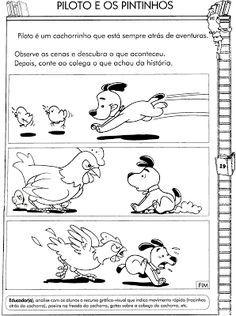 **´¯`*♥¸¸*♥`*ESPAÇO APRENDENTE**´¯`*♥**´¯`*♥**: Atividades com sequencia lógica - alfabetização