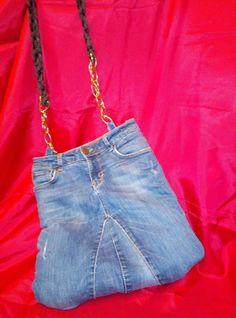 Borsa donna Jeans con lunga tracolla art. 830 Armani Jeans, Denim Skirt, Versace, Skirts, Pants, Ebay, Fashion, Home, Moda