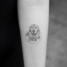 Cute Tattoo Ideas - Small Design Instagram Inspiration   Glamour UK #DogTattooIdeas