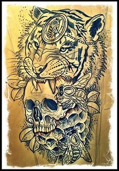 Tattoo Artwork by Sam Clark