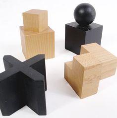 Modernist Bauhaus Chess Set designed by Josef Hartwig at 1stdibs