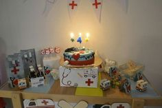 Doctor theme birthday of my daughter