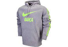 Nike Barcelona Core Hoodie - Dark Grey