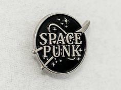 """Space Punk Enamel Pin - NASA style - 1"""" (2.54 cm)"""