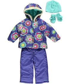 "Carter's ""Snowflake Club"" 2-Piece Snowsuit Accessories « Clothing Impulse"