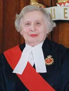 Mabel VanCamp (1920 - 2012) Graduating from Osgoode Hall and called to the Bar of Ontario in 1947, she became a partner in the firm of Beaudoin, Pepper & Van Camp and was appointed Queen's Council in 1965. She was the first woman appointed to the Supreme Court of Ontario in 1971, Mabel was a role model in the field of law for women. She was honoured as a 'Judicial Pioneer' in the Hall of Honour at the Canadian Judicial Conference in 1995, and in 2003, she was awarded the Order of Ontario.