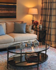 Transitional Style living room. Alexandra Luhrs Interior Design