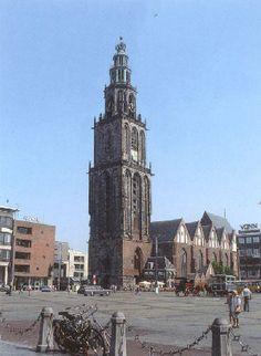 Capital of Groningen :Groningen ,the Martini tower