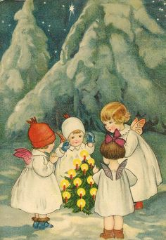 christmas time... / Christmas Card Art - Postcard - Posters